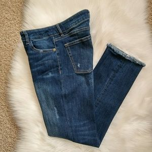 DL1961 Mara Instasculpt Straight Ankle Jeans Sz 28